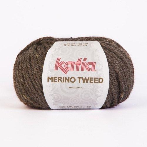 Katia Merino Tweed 303 acorn 50g Wolle -