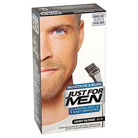 Just For Men Pflege Brush In Color Gel für Bart, Schnurrbart, Aschblond, M10