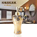 Manueller soap-dispenser,Dusche dispenser,Bad waschmittel flasche Dusche gel shampooflasche Hotel Homecrystal Gel-duschkabine Shampoo box-U