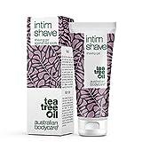 Australian Bodycare Intim Shave (100ml) Rasiergel für den Intimbereich mit Teebaumöl. Transparentes Rasiergel für Frauen und Männer – auch für sensitive Haut geeignet - Bekannt aus der Apotheke