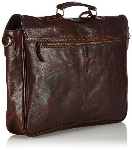 Cowboysbag - Bag Miami, Borsa A Tracolla, unisex Marrone (brown 500)