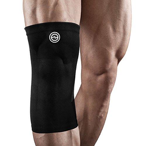Genouillère de Compression - Soulagement, Stabilisation & Soutien Optimal du Genou - 4 Tailles Disponibles - Pour Hommes & Femmes - Medium