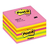 Post-It Cube Energie Intense 76 x 76mm - 450 Feuilles