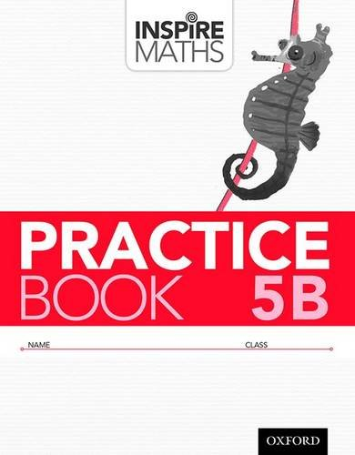 Inspire Maths: Practice Book 5B (Pack of 30)