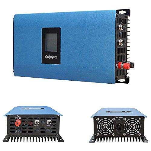 ECOWORTHY 1000W Solar-Power-Netz Inverter/zum Wechselrichter MPPT DC45–90V, für zu Hause, grid-tie PV-System (Tie Grid Solar Pv)