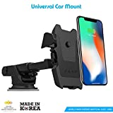 #2: Zaap Quick Touch One Premium 360 Adjustable 3-in-1 Car Mount Holder For All Smartphones (3rd Generation, Black)