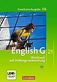 English G 21 - Erweiterte Ausgabe D / Band 6: 10. Schuljahr - Workbook mit Audios online