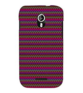 EPICCASE wavey pattern Mobile Back Case Cover For Micromax Canvas Magnus A117 (Designer Case)