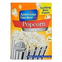 American Garden Microwave Popcorn Sea Salt & Pepper, 273g