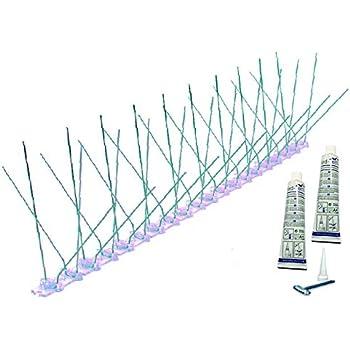 5 Metre Pack Bird Spikes Stainless Steel&Polycarbonate *THE BIRD-TECH ORIGINAL*