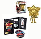 Evil 2 Demogorgon Exclusive Stranger Things Bundle: Limited Edition 2019 Summer Exclusive Funko Pop 428 (GOLD) Demogorgon + VHS Set Season 2 DVD Blu-Ray 4 Disc Box Special Edition 2-Pack Combo
