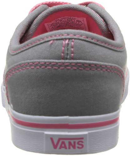 Vans Z Atwood Low, Baskets mode filles Gris (Canvas/Grey/Pink Lemonade)