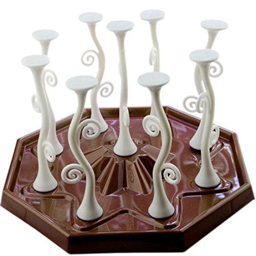 TXXCI Mug Cup Bottiglia bagagli Scarico Stendino Kitchen Organizzatore mensola