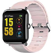 Beautygoods Smartwatches Fitness Activity Tracker Tracker - Pulsera Inteligente para Hombres de Mujeres, Pulsera Inteligente