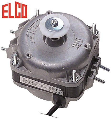 Lüftermotor VN10-20 Gleitlager L1 49mm L2 59mm L3 86,5mm ELCO 50/60Hz Kabel 500mm Breite 83mm 230V Geschwindigkeiten 2 1300/1550U/min 10W passend für Electrolux, Alpeninox, Angelo Po, Cookmax