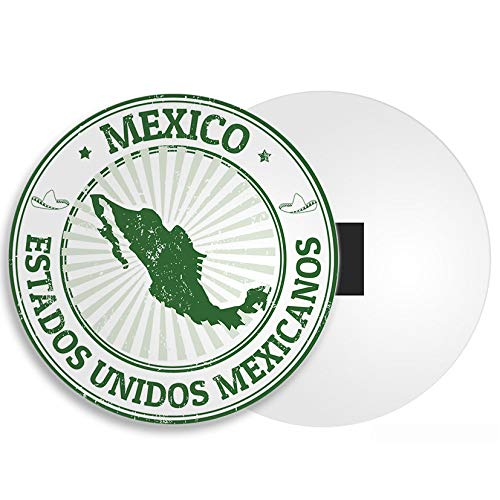 DestinationVinyl Mexiko Kühlschrankmagnet - Karte Reise Stamp Mexican Cancun Urlaub 4121
