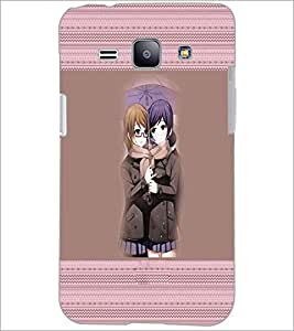 PrintDhaba Friends D-5656 Back Case Cover for SAMSUNG GALAXY J1 (Multi-Coloured)