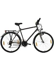 KS Cycling Trekkingrad Herren Nevada Anthrazit RH 54 cm Multipositionslenker Fahrrad, Dark Bronze, 28 Zoll