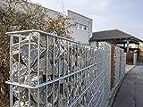 ranko Gavión I H = 2030I B = 1100I piedra Gavión I alambre cesta I Muro de piedra I piedra cesta I Muro I pared I Jardín Valla