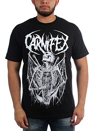 Carnifex - Top - Uomo Black XX-Large