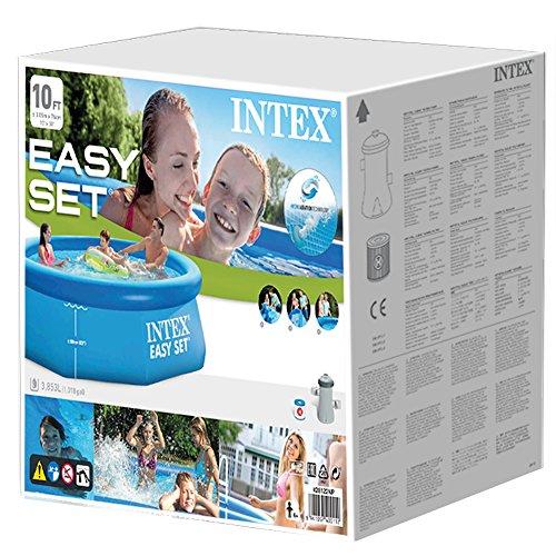 Intex 28122 Easy Set Piscina Rotonda, 305 x 76 cm, con Pompa Filtro - 4