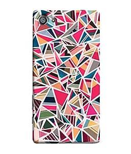 Snapdilla Designer Back Case Cover for Sony Xperia Z5 Compact :: Sony Xperia Z5 Mini (Texture Illustration Watercolor Backcase Pouch )
