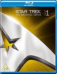 Star Trek: The Original Series Remastered - Season 1 [Blu-ray] [Import anglais]