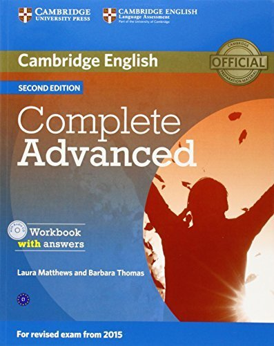 Complete Advanced Workbook with answers with Audio CD by Laura Matthews (2014-04-17)