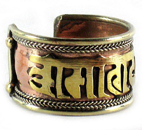 Zoom IMG-2 dharmaobjects anello tibetano curativo con