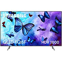 "Samsung QLED 2018 49Q6FN - Smart TV Plano de 49"", 4K UHD resolución, HDR 1000, Control One Remote, versión española, Color Plata"