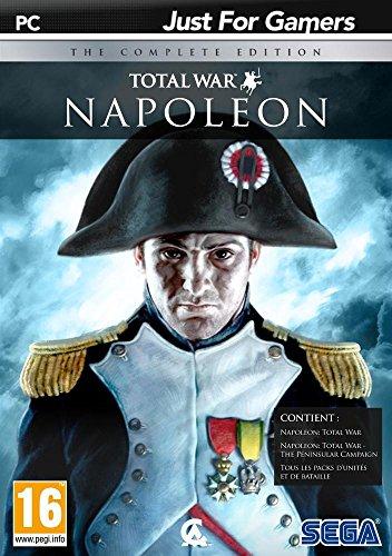 SEGA Napoléon : total war - the complete edition, PC Básico PC Inglés, Francés vídeo - Juego (PC, PC, RTS (Estrategia en Tiempo Real), Modo multijugador, T (Teen))