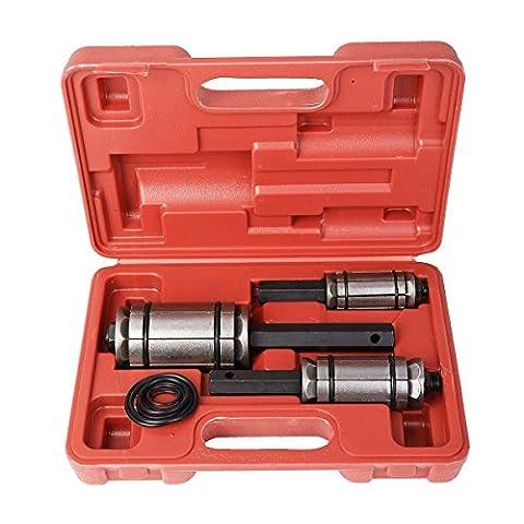 Neuf 3PC de silencieux Queue et tuyau d'échappement Expander 11/20,3cm à 31/5,1cm Outil de W/Coque