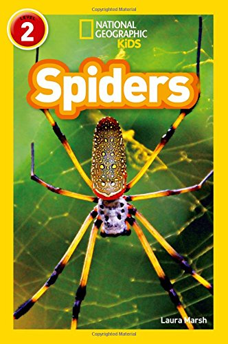 Spiders: Level 2 (National Geographic Readers)