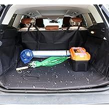 HCMAX Cane Veicolo Protezione Bagagliaio Auto Copertura per Sedile Cani Animale domestico Coprisedile Stuoia Antiscivolo Impermeabile Universale per SUV Camion Jeep Furgoni