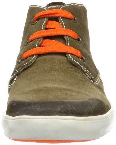 Richter Kinderschuhe  Web, Chaussures de ville à lacets pour garçon Marron - Braun (gaucho 9100)