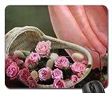 Blumenkorb Mauspad, Mousepad (Blumen Mauspad)