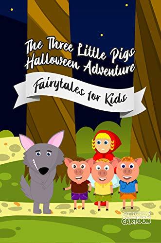 The Three Little Pigs Halloween Adventure (English Edition)