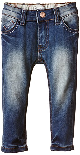 Noppies Mädchen Jeanshose G Jeans skinny Lot blue, Gr. 104, Blau (Stone Wash C295)