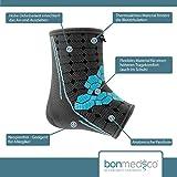 bonmedico® Ekto (NEU!), Fuß-Bandage Mit Wärmefunktion Für Bessere Blutzirkulation im Fuß - Sehr hoher Tragekomfort Im Schuh Ohne Druckstellen - Für Frauen und Männer (L) (links/rechts) Test
