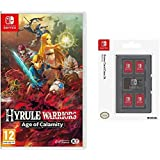 Hyrule Warriors: Age of Calamity +HORI Switch Game Card Case - Black (Nintendo Switch)