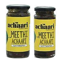 The Achaari Meethi Achaari, 100% No Oil & No Preservative, Homemade Sweet Mango Pickle (Combo(400gm+250gm))