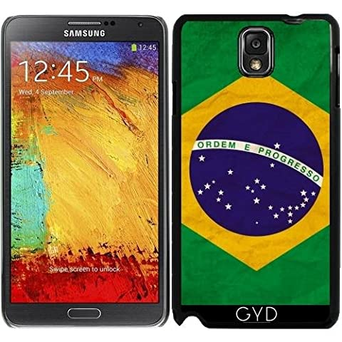Hülle für Samsung Galaxy Note 3 (GT-N9500) - Brasilien Rio Flagge Brasilianisches by WonderfulDreamPicture