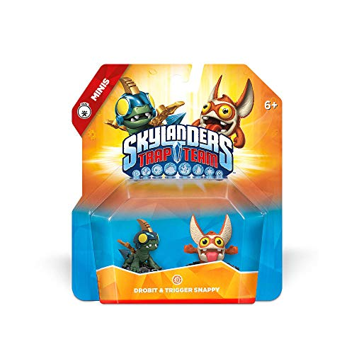 Skylanders Trap Team: Drobit & Trigger Snappy - Mini Character 2 Pack by Activision - Mini-spiele Wii Für