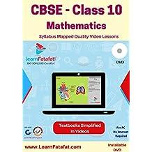 LearnFatafat CBSE Class 10 Mathematics Video Lectures Course