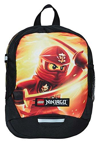 Offre de prix Lego Vline Ninjago Kai Sac à Dos Enfants, 33 cm, 9 liters, Rouge (Rojo)