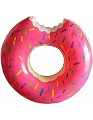 Flotador verano Niza diseño estilo natación anillos 60~ 120cm tamaño agua Pool Fun Float Juguetes inflables para adultos y niños inflable anillo de natación playa o piscina baño juguete, rosa