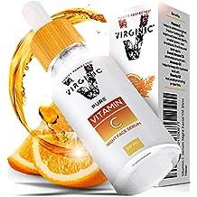 Suero Facial de Vitamina C la Mejor Crema Hidratante y Exfoliante Cremas Faciales Antiarrugas con Acido