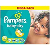 Pampers Baby Dry Taille 5 Junior 11-25kg (74) - Paquet de 6