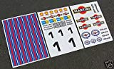 HPI BAJA 5T 1/5th RC MARTINI sticker aufkleber FG MCD