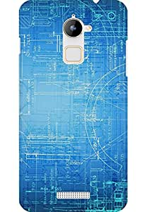 AMEZ designer printed 3d premium high quality back case cover for Coolpad Note 3 Lite (Brainstorming abstract)